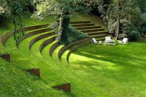 jardín siempre verde